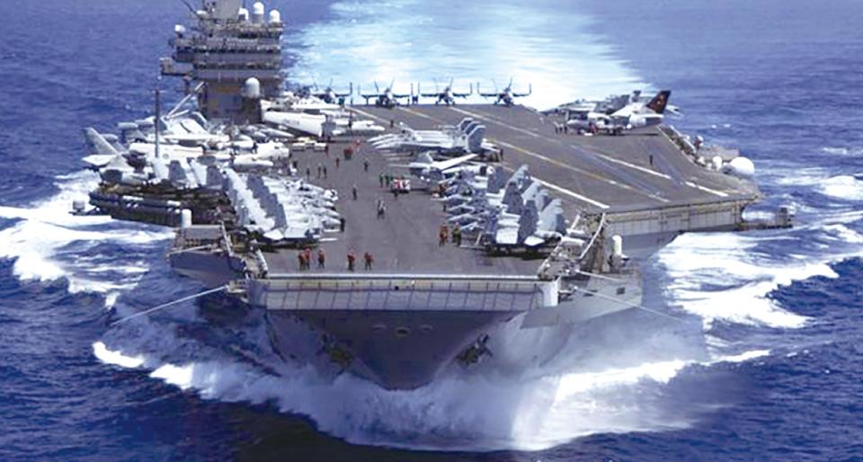 米海軍艦艇