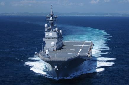 施工事例:海上自衛隊護衛艦